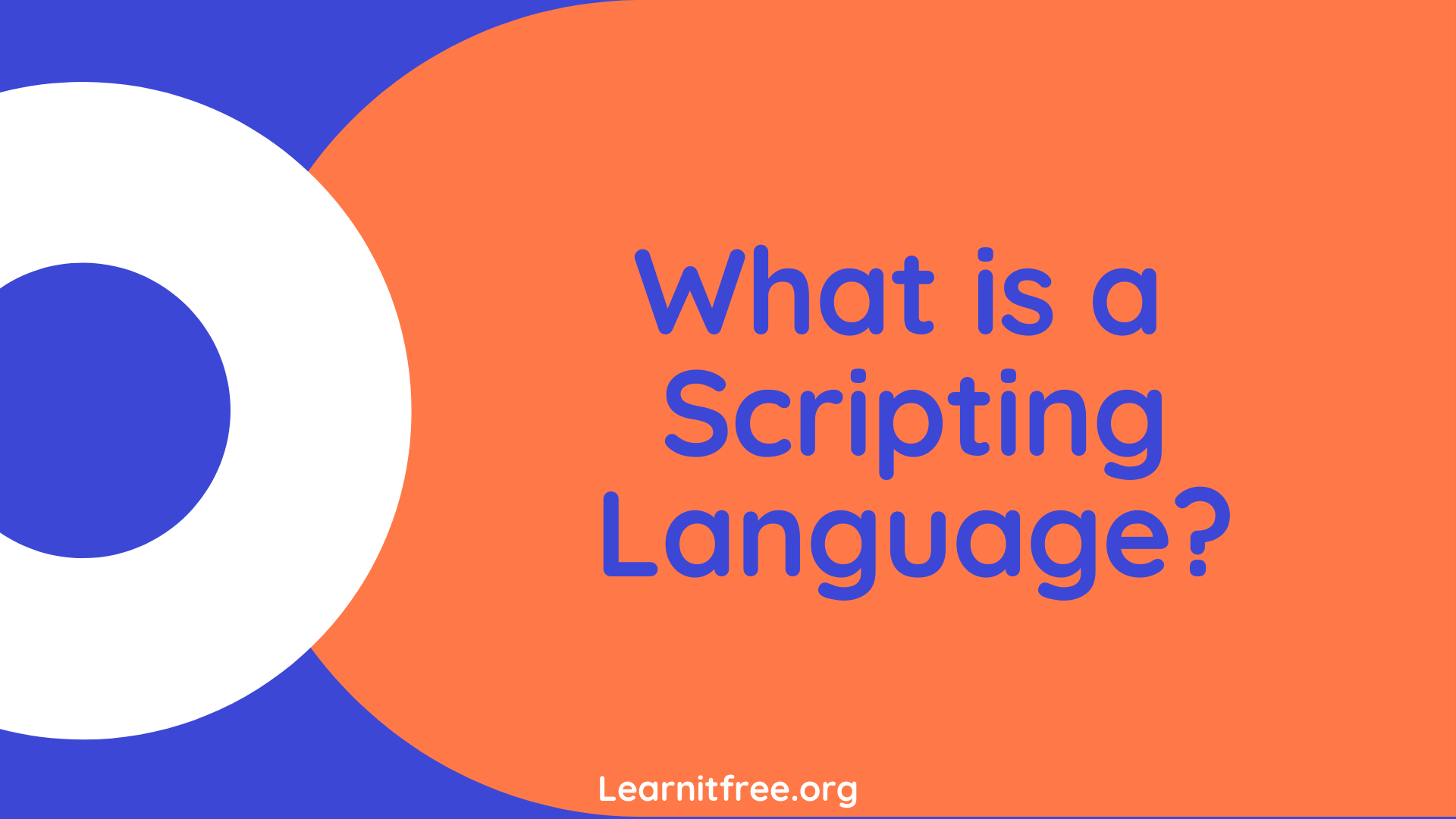 Image describing a Blog Post about What is Scripting Language